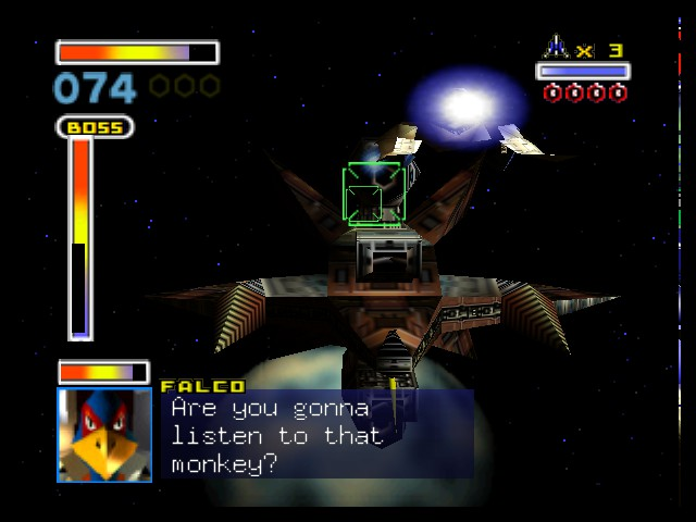 Star Fox 64 - Falco makes me laugh! - User Screenshot